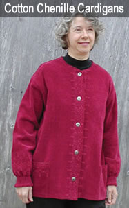 Cotton Chenille Cardigans