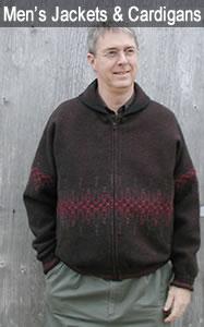Men's Wool Jackets & Cardigans
