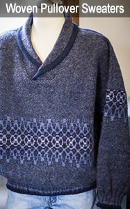 Woven Wool Pullover Sweaters for Men & Women