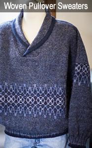 Woven Wool Pullover Sweaters for Men & Women
