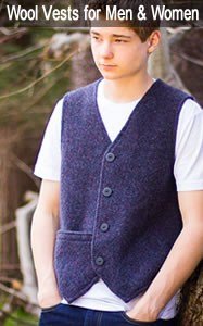 Wool Vests for Men and Women